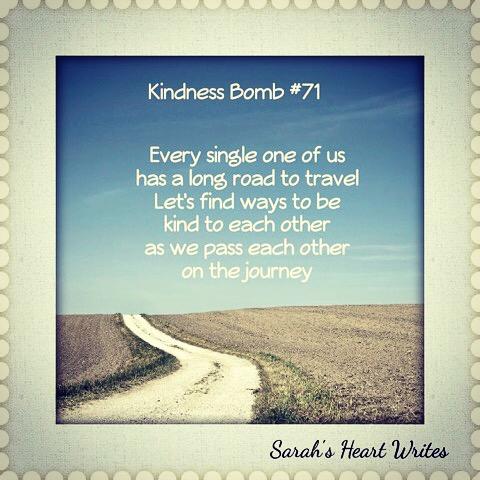 #kindnessbomb no 71,