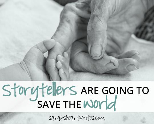 storytellers save the world